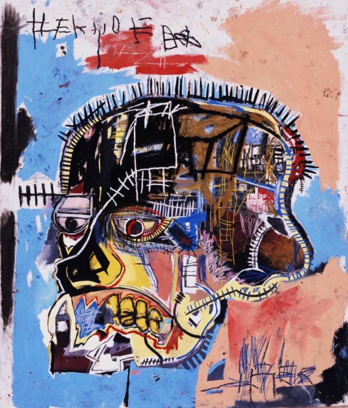 Untitled (Skull) Basquiat