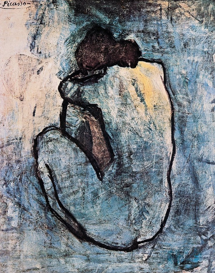 Blue Nude (painted 1902)