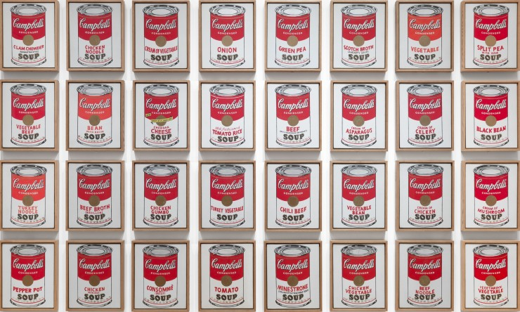 Campbell's Soup Cans 1962