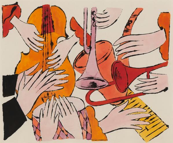 Instruments with Hands 1957